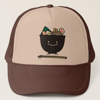 Happy Ramen Bowl Trucker Hat
