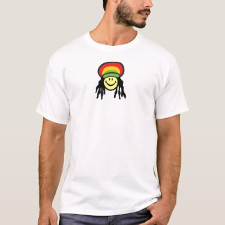 Happy Rastafarian face T-Shirt
