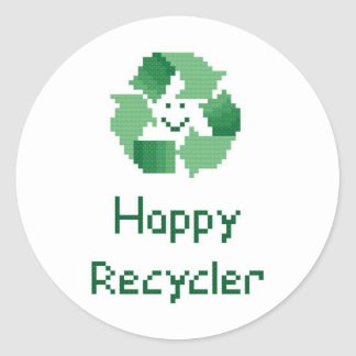 Happy Recycler Sticker