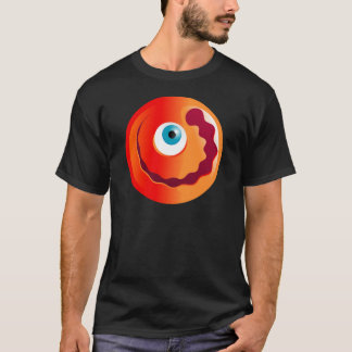 Happy Red Cyclops Smilie T-Shirt
