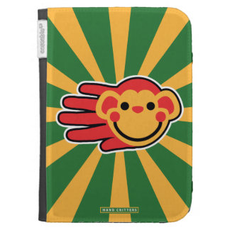 Happy Red Monkey Smiley Face Cases For The Kindle