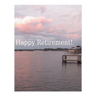 Happy Retirement Cedar Key Florida Letterhead