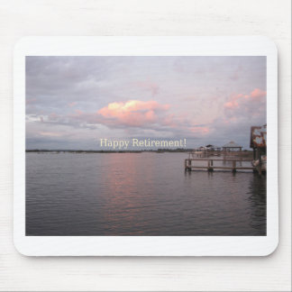 Happy Retirement - Cedar Key Florida Mouse Pad