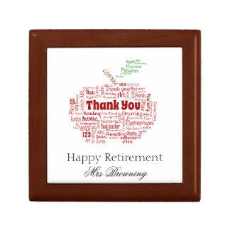 Happy retirement gift gift box
