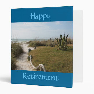 Happy Retirement - memories binder