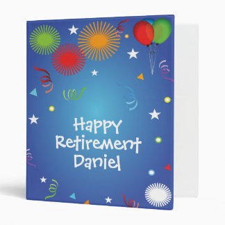 Happy Retirement memories scrapbook Binder