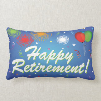 Happy Retirement party pillow