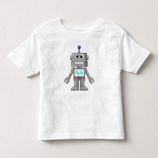 Happy Robot Toddler T-shirt