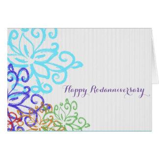 Happy Rodanniversary Note Card