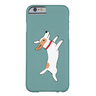 Happy Running Jack Russell Terrier - Cute Dog Barely There iPhone 6 Case
