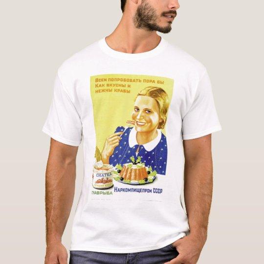 Happy Russian Girl T-Shirt