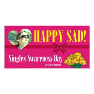 Happy SAD (Single Awareness Day) Anti-Valentines Picture Card