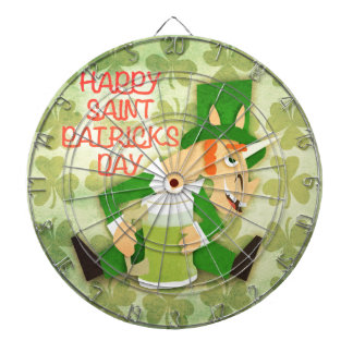Happy Saint Patrick's Day Dartboards