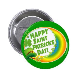 Happy Saint Patrick's Day! 2 Inch Round Button