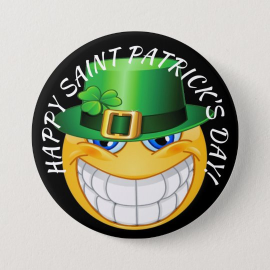 Happy Saint Patrick's Day Button