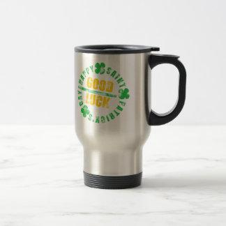 Happy Saint Patrick's Day Good Luck Travel Mug