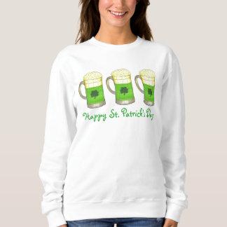 Happy Saint Patrick's Day Green Beer Sweatshirt