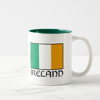Happy Saint Patrick's Day Two-Tone Coffee Mug