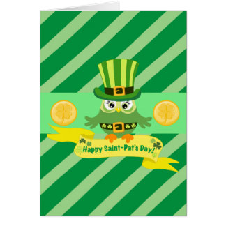 Happy Saint Pat's Day Card