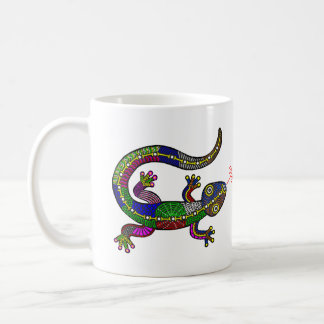HAPPY SALAMANDER COFFEE MUG