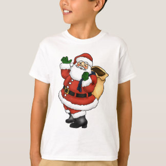 Happy Santa Claus Waving T-Shirt