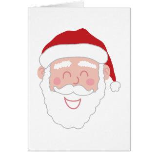 Happy Santa Greetings Card