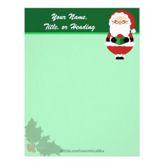 Happy Santa Letterhead