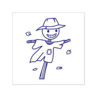 Happy Scarecrow Self-inking Stamp