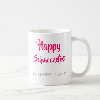 Happy Schmoozefest Mug - Lilah Love