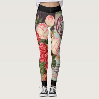 HAPPY SEED Leggings FLOWERS