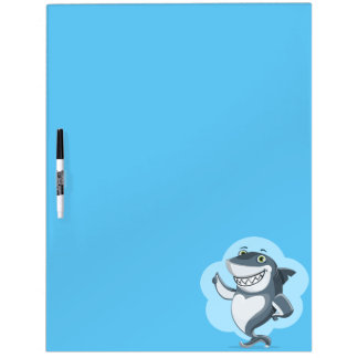 Happy shark Dry-Erase whiteboards