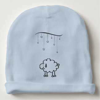 Happy Sheep Baby Beanie