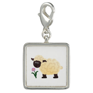Happy Sheep Photo Charm