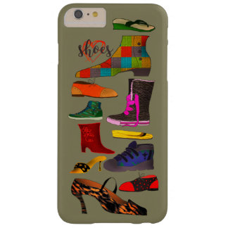 Happy Shoes Pattern TaupeCase Mate iPhone 6/6s Barely There iPhone 6 Plus Case