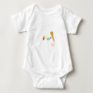 Happy Singing Music Karaoke Baby Bodysuit