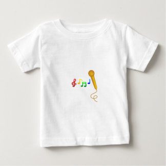 Happy Singing Music Karaoke Baby T-Shirt
