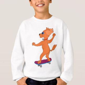 Happy Skateboarding by The Happy Juul Company Sweatshirt