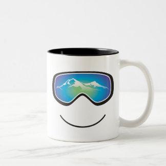 Happy Skier/Snowboarder Mug
