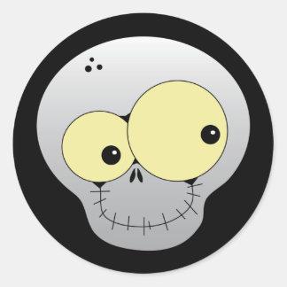 Happy Skull Halloween Sticker
