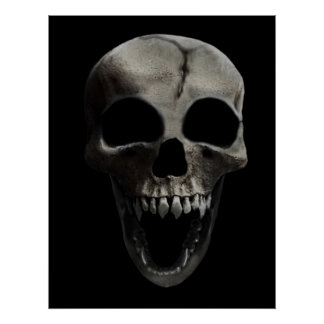 Happy Skull poster