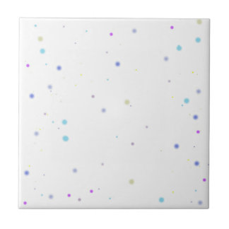 Happy Sleep - flag Dots Tile