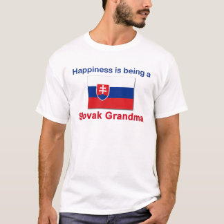 Happy Slovak Grandma T-Shirt