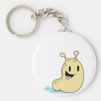 happy slug keychain
