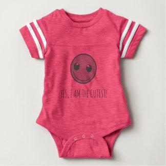 Happy Smiley Baby Bodysuit