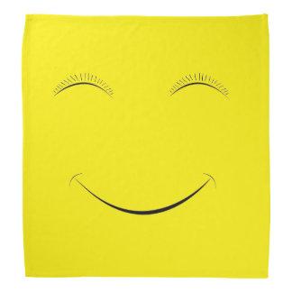 Happy smiley bandana
