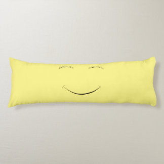 Happy smiley body pillow