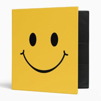 Happy Smiley Face binder