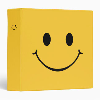 Happy Smiley Face Binder