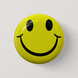 Happy Smiley Face Button