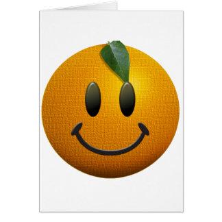 Happy Smiley Face Card
